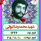 * شهید محمد رضا لیوانی *