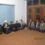 دیدار اعضای پایگاه بسیج و هیات امنا مسجد حضرت ولیعصر (عج) با امام جمعه بهشهر