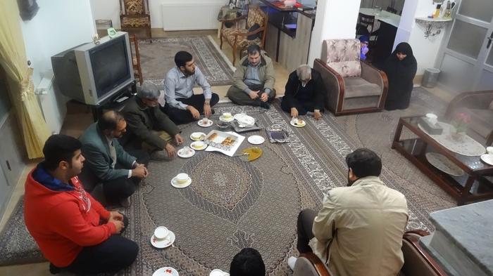 دیدار با خانواده شهید لیوانی 3