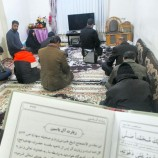 طرح قرائت زیارت آل یاسین در منازل شهدای پایگاه بسیج حضرت ولیعصر(عج)